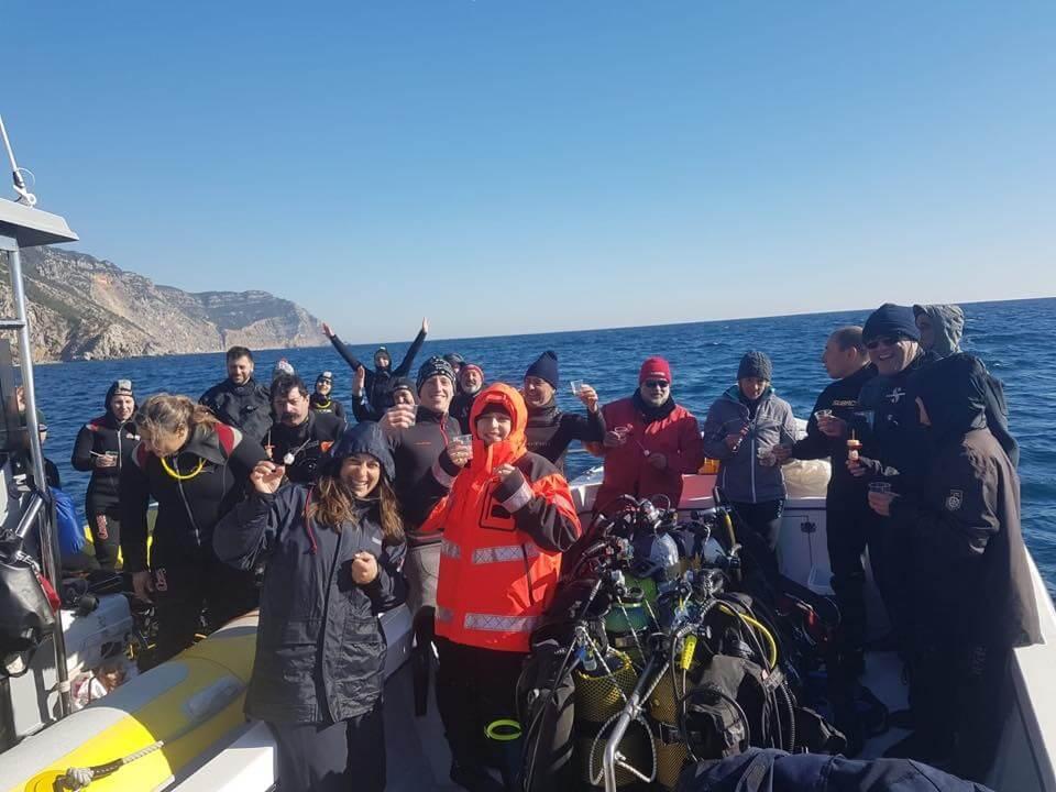 Saidas de mergulho con Odisseia Azul